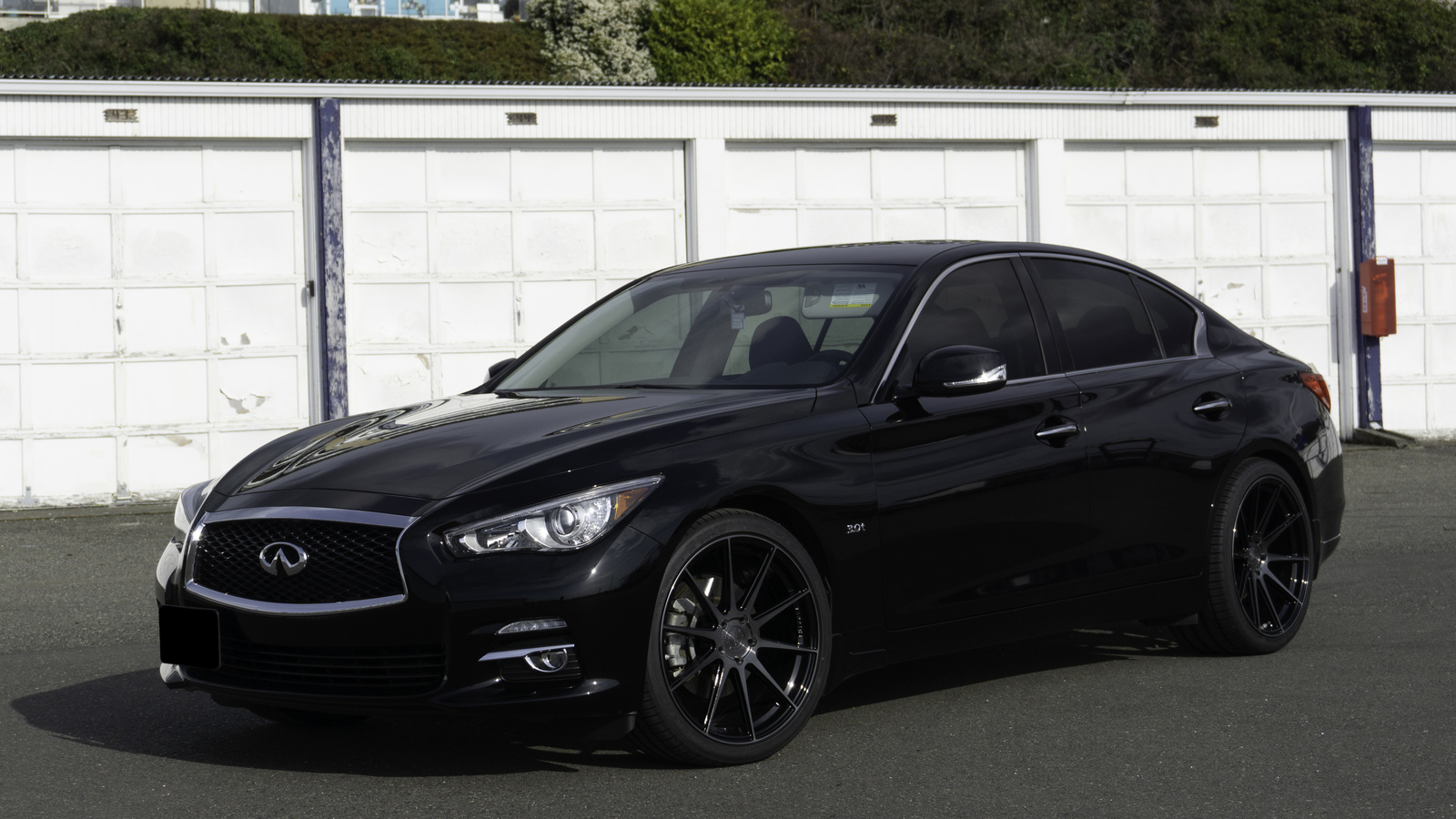 2017 Black Infiniti Q50 SE RWD picture, mods, upgrades
