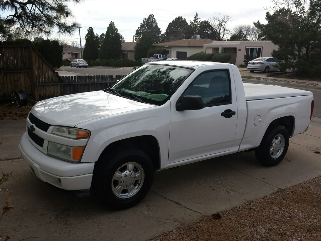 White 2008 Chevrolet Colorado LS