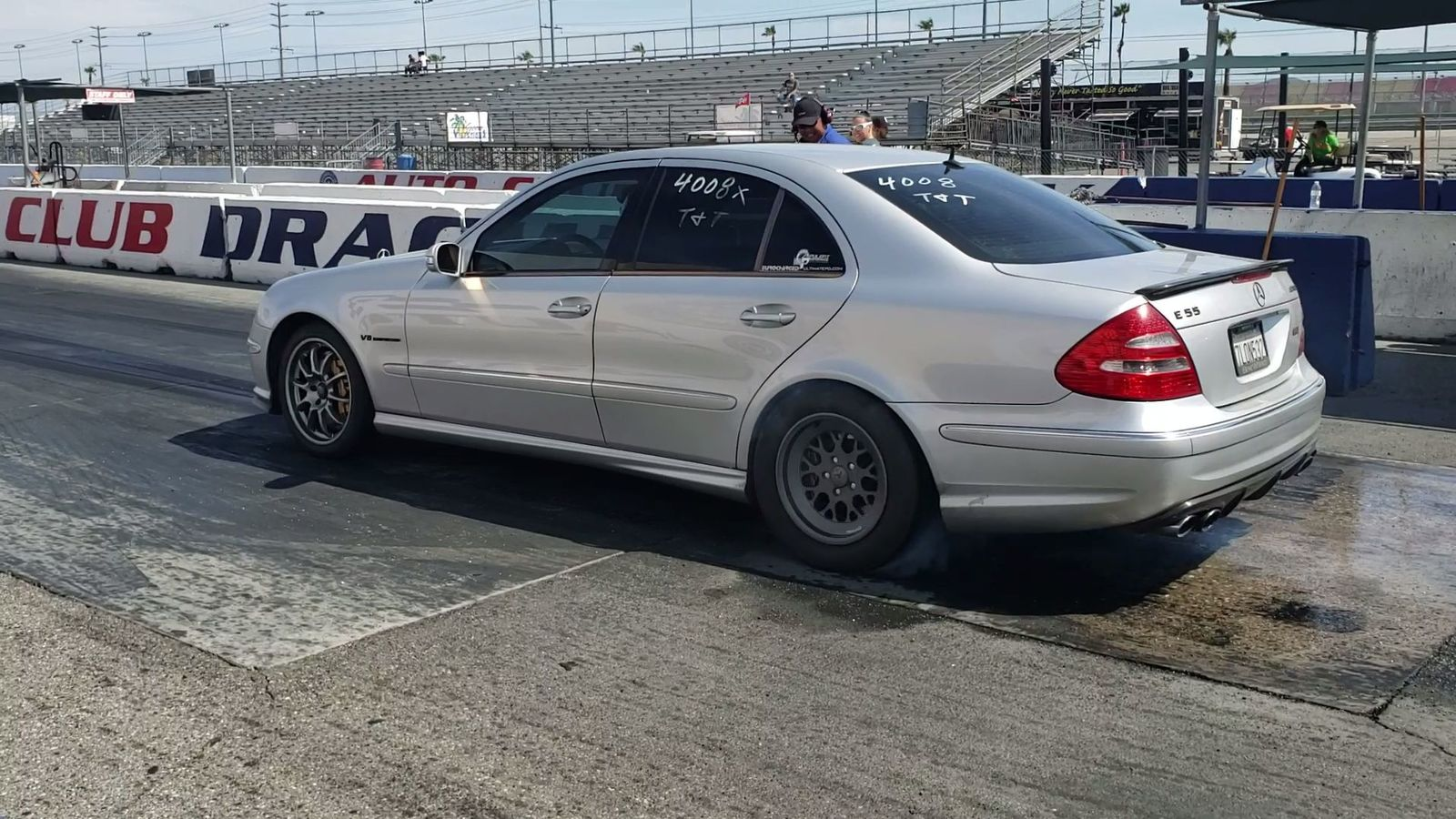 2003 Silver Mercedes-Benz E55 AMG Base picture, mods, upgrades