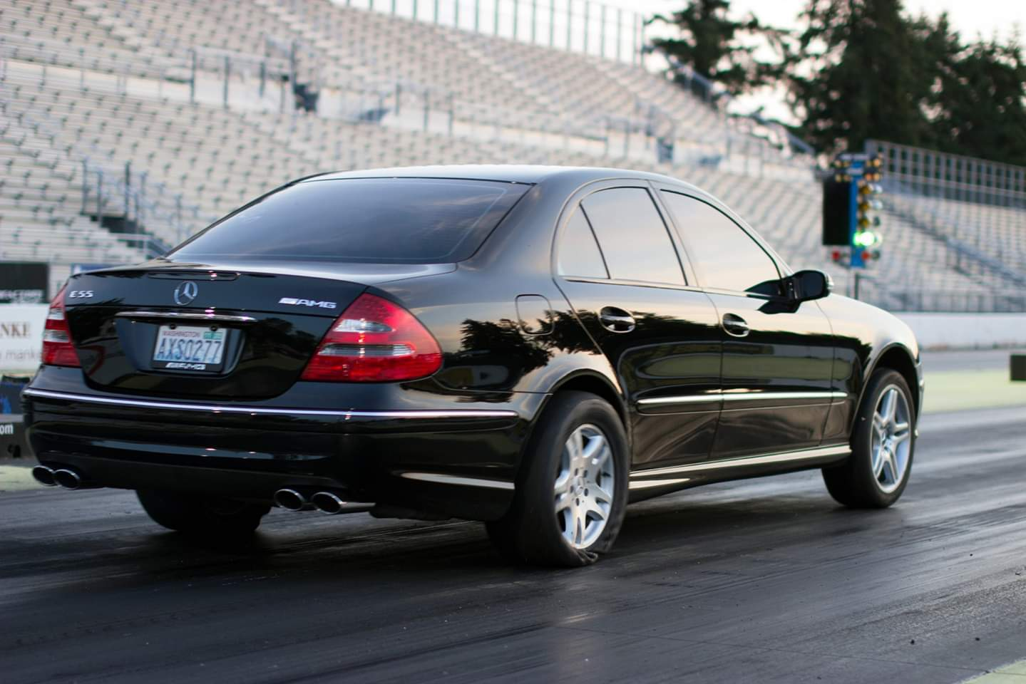 Black  2004 Mercedes-Benz E55 AMG