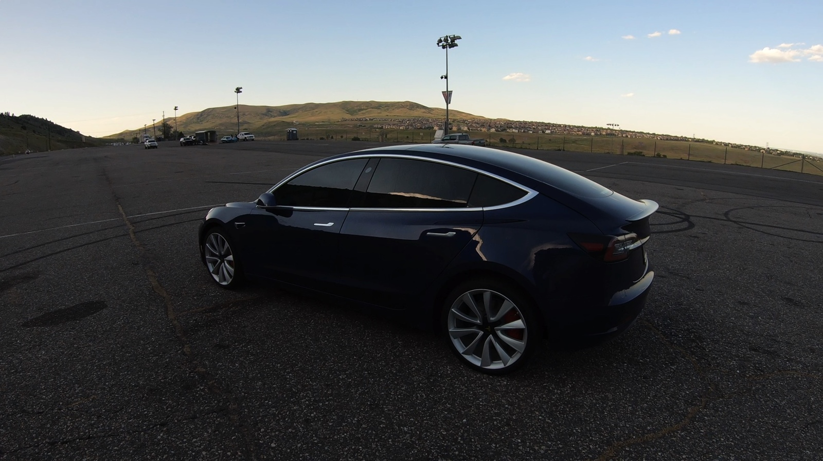 Deep Blue Metallic 2018 Tesla Model 3 Performance