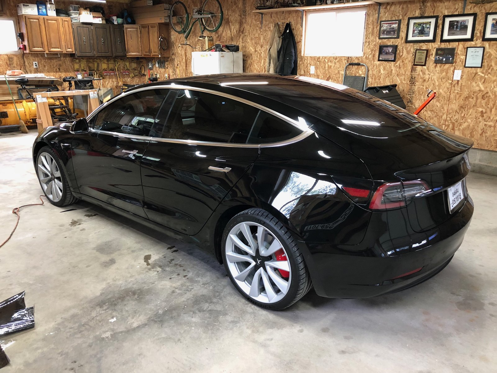 Black 2019 Tesla Model 3 Performance