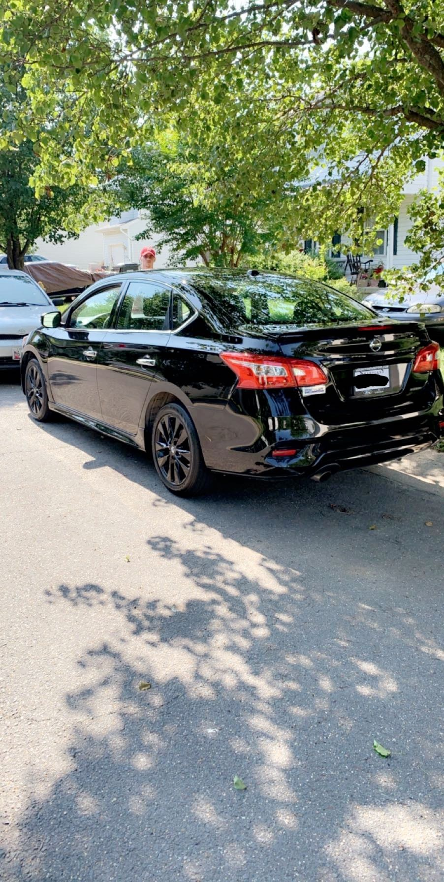 2018 Black Nissan Sentra SR Turbo picture, mods, upgrades