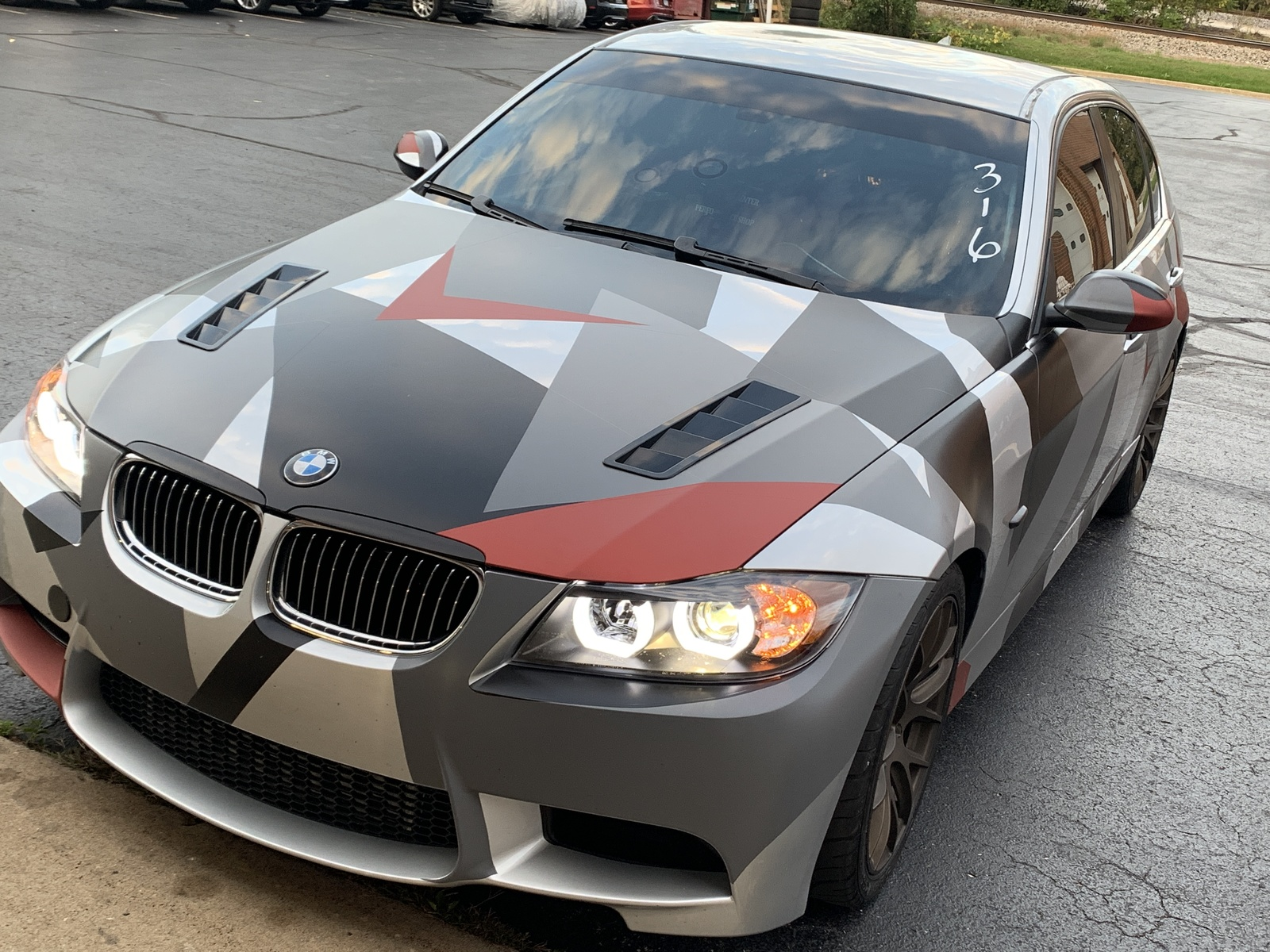 2008 Camo  BMW 335xi  picture, mods, upgrades