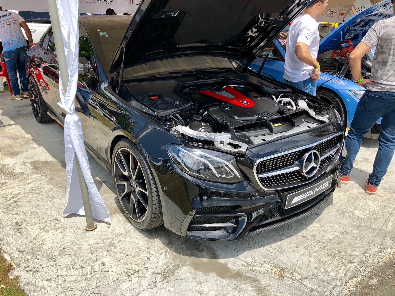 Black 2017 Mercedes-Benz E43 AMG