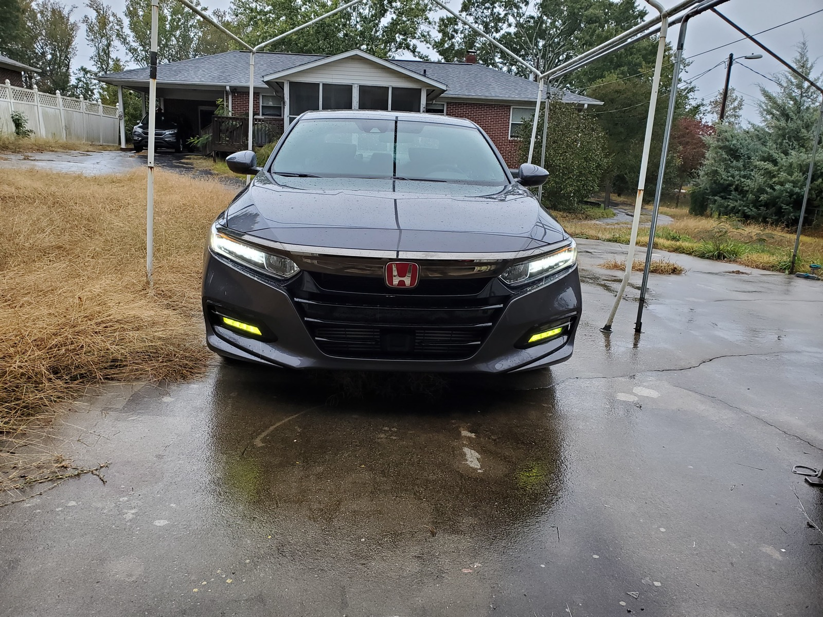 grey 2019 Honda Accord sport 2.0t