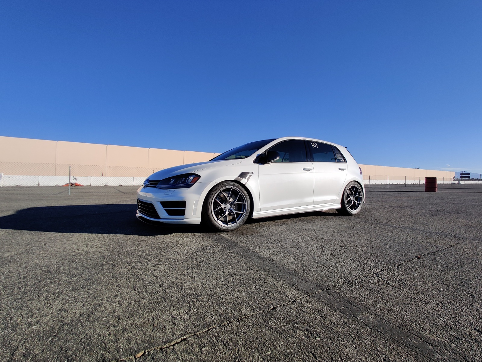 2016 Oryx White Volkswagen Golf R  picture, mods, upgrades