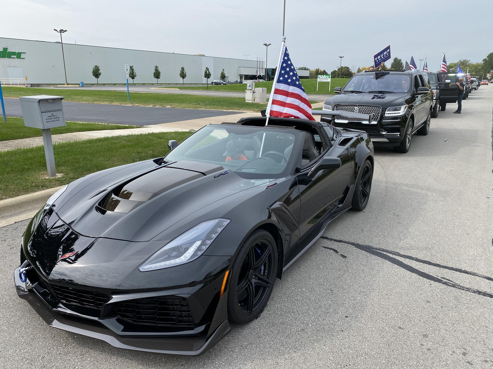 Black 2019 Chevrolet Corvette ZR1