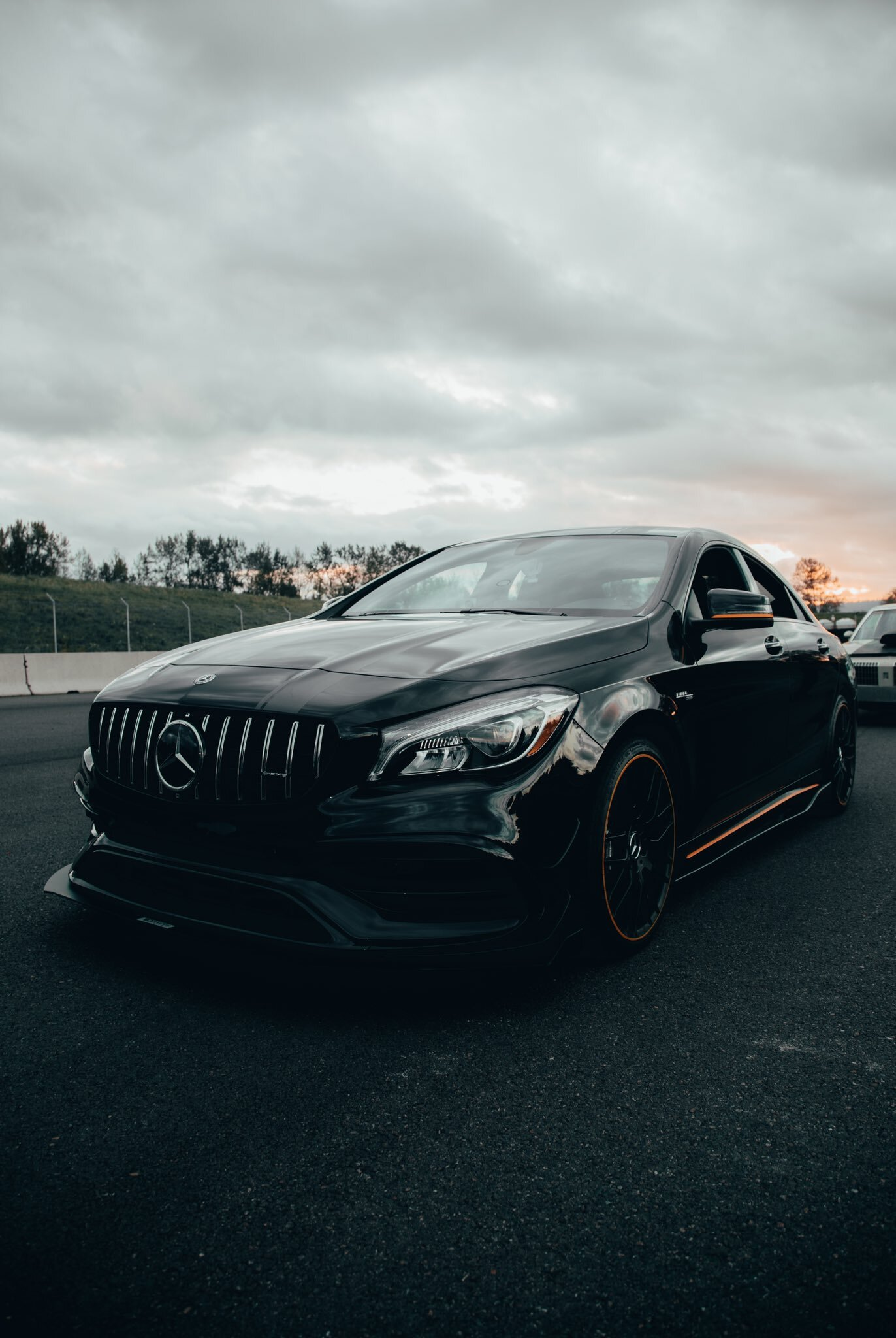 Night Black 2019 Mercedes-Benz CLA45 AMG
