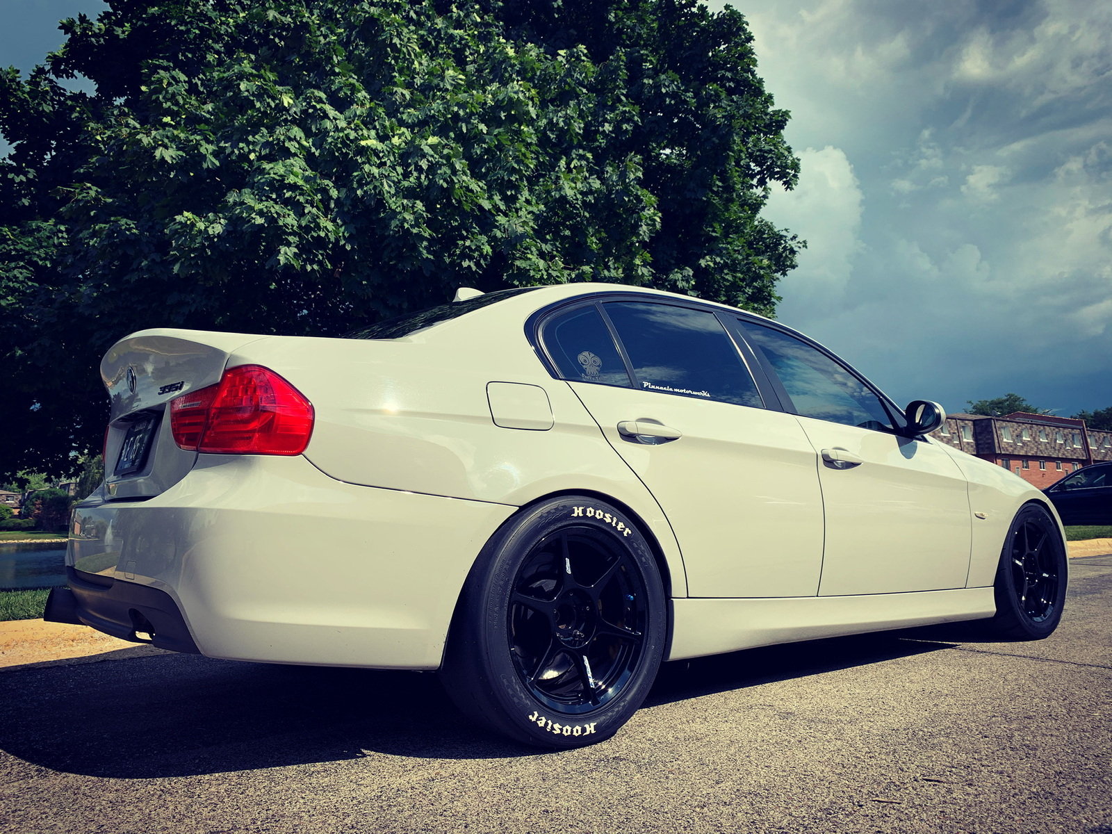 Grey 2007 BMW 335xi