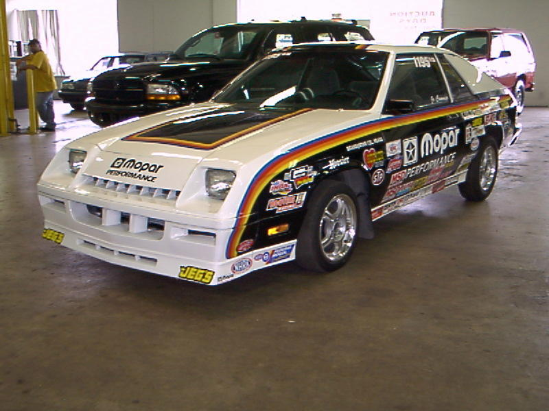 1984  Dodge Shelby Charger NHRA IHRA  Stock Eliminator picture, mods, upgrades