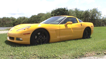 2005 Chevrolet Corvette C6 Z51 with Nitrous