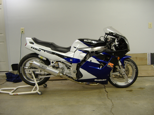 1996  Suzuki GSX-R GSX-R 1100 picture, mods, upgrades