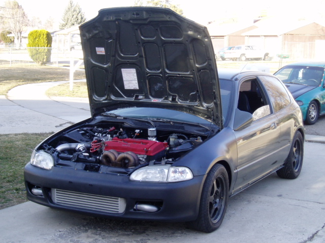 1995  Honda Civic vx hatchback picture, mods, upgrades