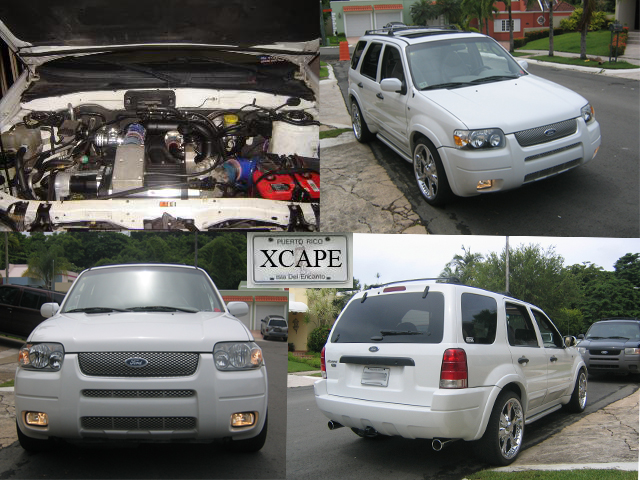 2001 Ford Escape XLT Supercharger