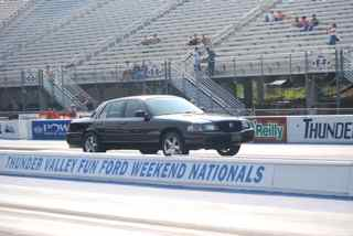 2003 Mercury Marauder Trilogy #140 Supercharged