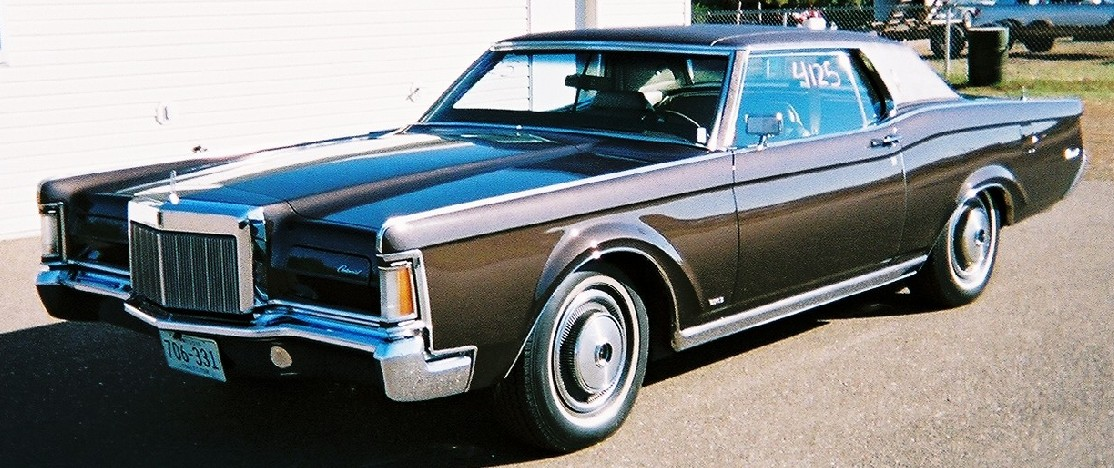 1970 Lincoln Continental Mark III 2 dr. cpe.