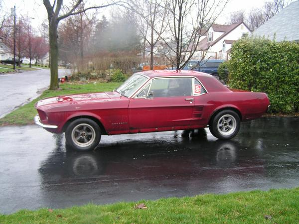 Rust 1967 Ford Mustang Hardtop