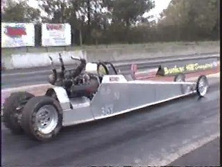 1998 Arctic Cat Snowmobile Dragster