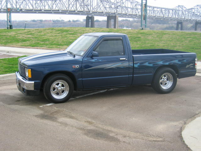 1987  Chevrolet S10 Pickup Tahoe picture, mods, upgrades