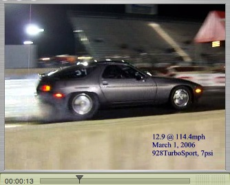 1986 Porsche 928 turbocharged