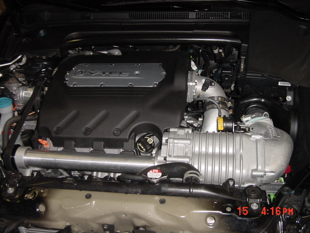 2005 Acura TL Supercharger