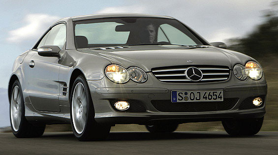 2006 Mercedes-Benz SL550