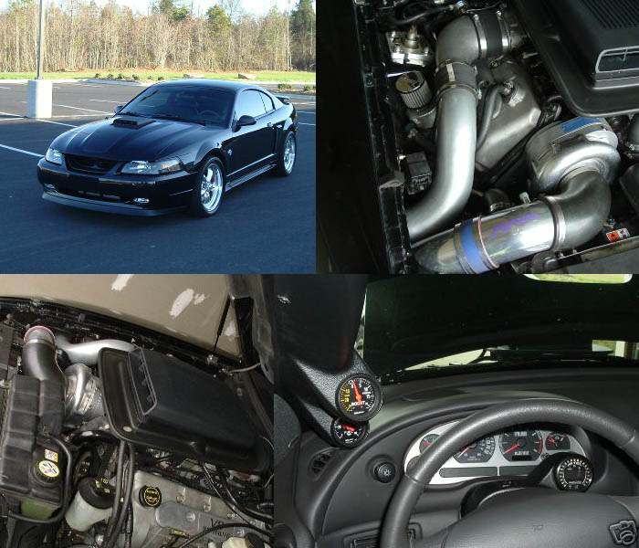 2004 Ford Mustang Mach 1 Supercharger