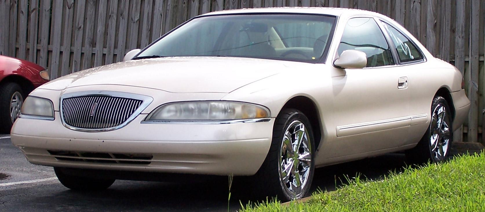 1998  Lincoln Mark VIII Base Model picture, mods, upgrades