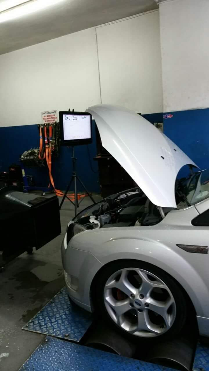 2008 Silver Ford Focus ST Dyno Graph