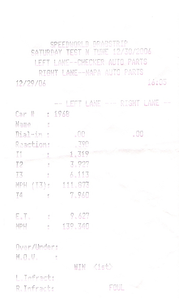 1968  Dodge Charger Hemi Timeslip Scan