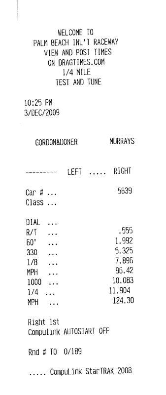 1992 Mazda MX3 GS Timeslip Scan
