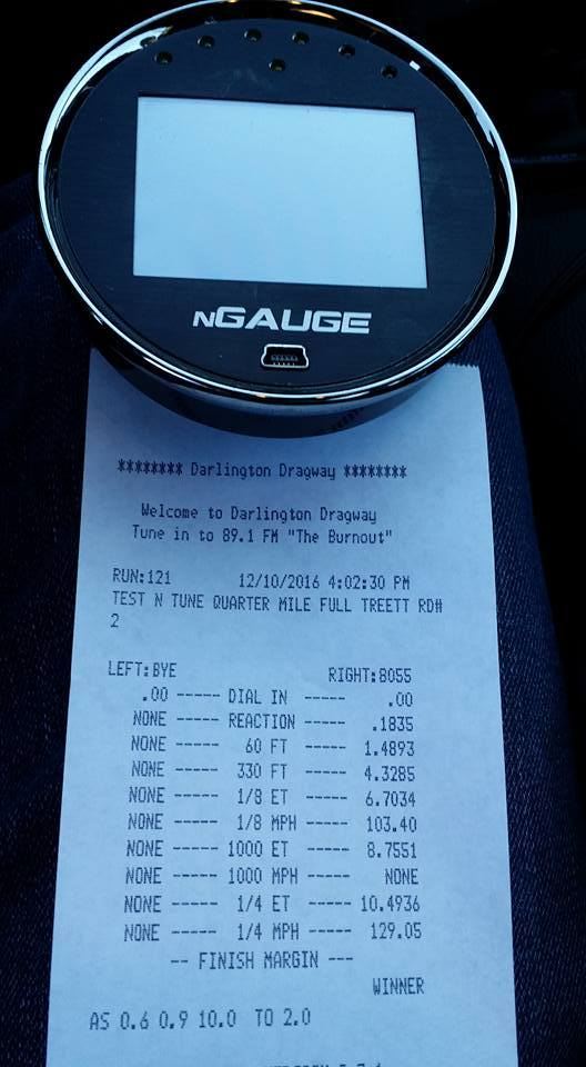 2015 Blue Ford Mustang GT    N/A Timeslip Scan
