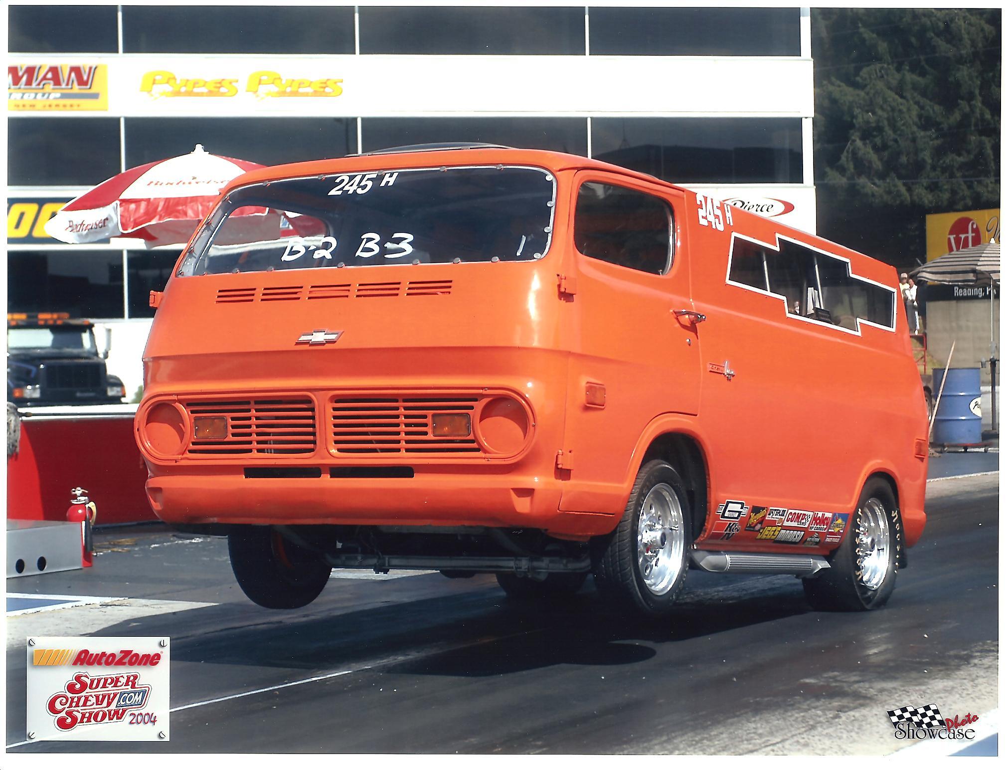 Chevy Extended Warranty >> 1968 Chevrolet G Van 90 1/4 mile Drag Racing timeslip ...