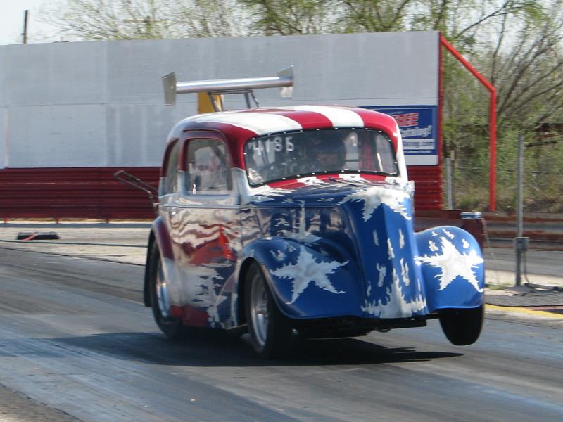 1948 Ford Anglia 1/4 mile Drag Racing timeslip specs 0-60 ...
