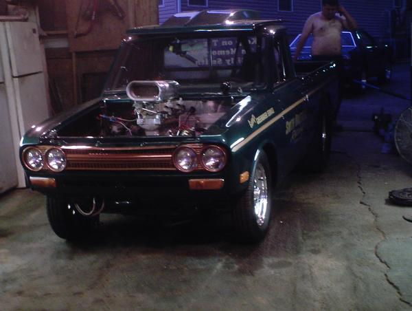 1968  Datsun Pickup  picture, mods, upgrades