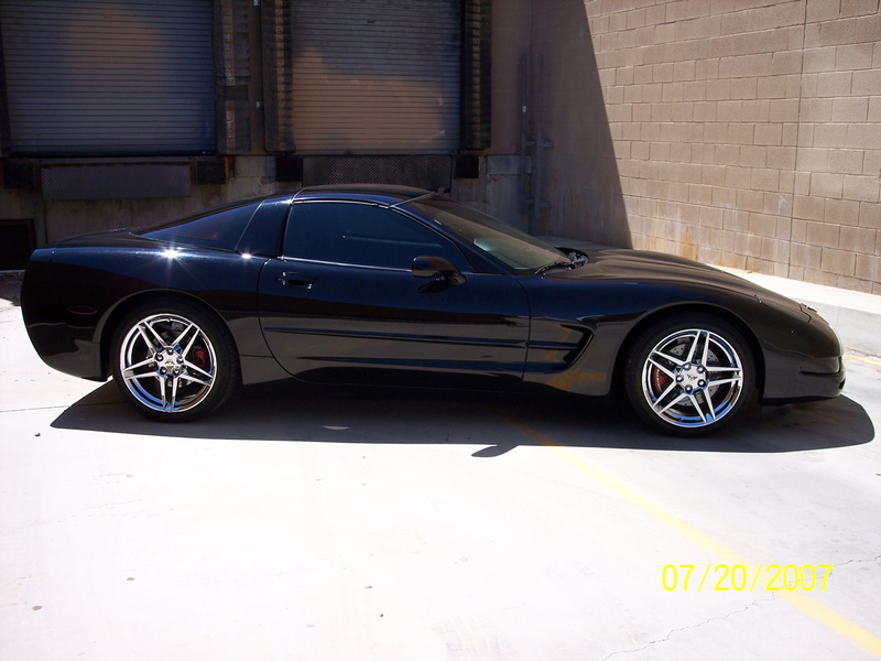 1 4 Mile Times >> 1998 Chevrolet Corvette Coupe 1/4 mile trap speeds 0-60 ...