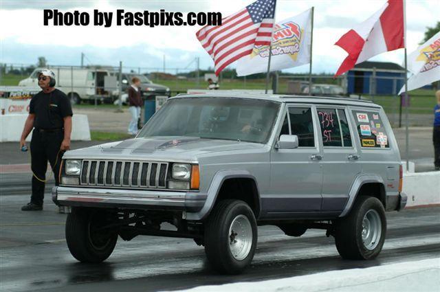 Jeep Cherokee Altitude >> 1985 Jeep Cherokee 1/4 mile Drag Racing timeslip specs 0-60 - DragTimes.com