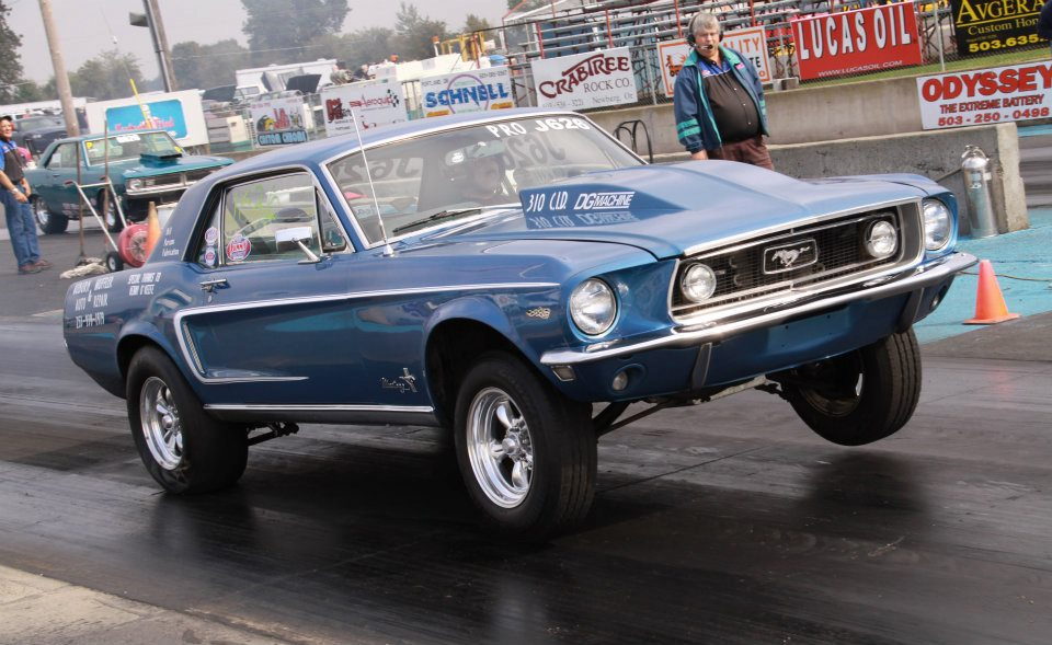 Ford Fairlane Drag Car