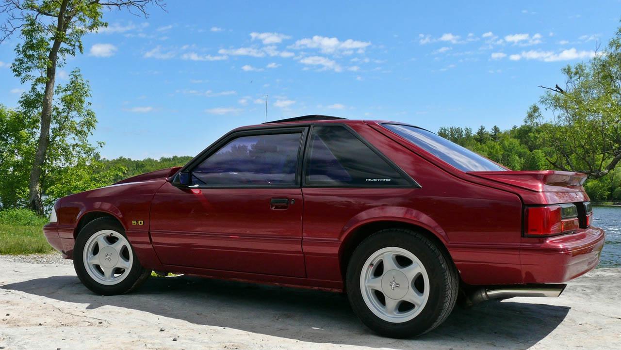 Mustang 0 60 >> 1993 Ford Mustang LX Hatchback 1/4 mile trap speeds 0-60 - DragTimes.com