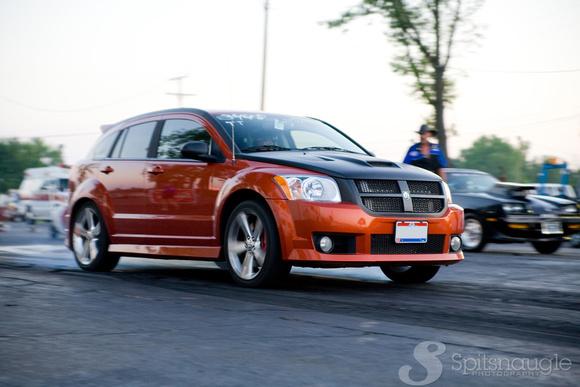 2008 Dodge Caliber SRT-4 1/4 mile trap speeds 0-60 - DragTimes.com