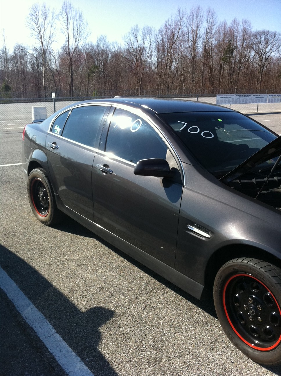 Grey 2008 Pontiac G8 GT Supercharged TVS1900