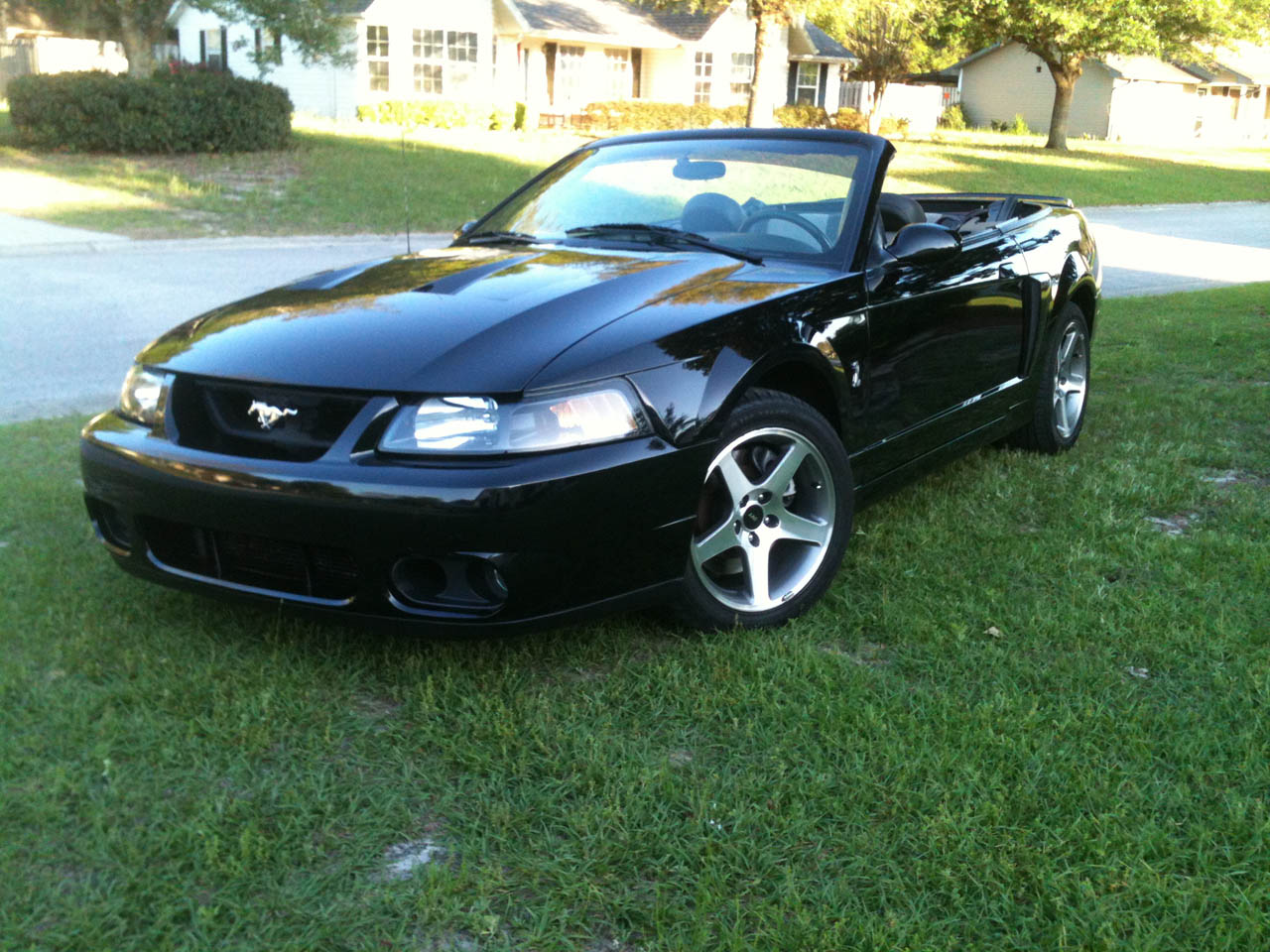 Ford Mustang Parts >> 2003 Black Ford Mustang Cobra Eaton Supercharged Pictures, Mods, Upgrades, Wallpaper - DragTimes.com