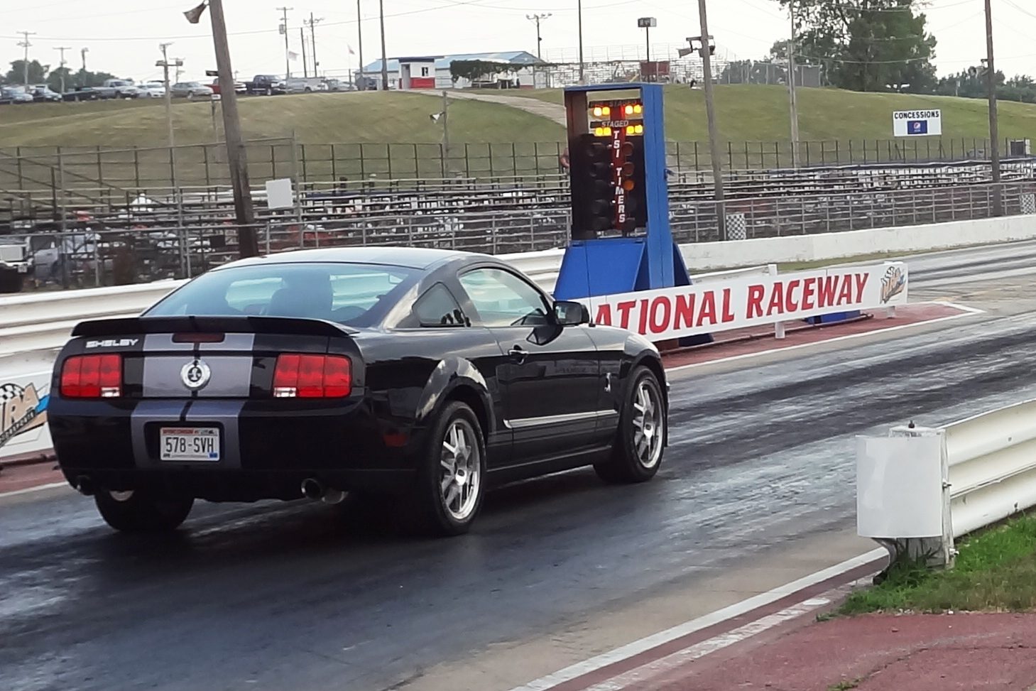 2007 Ford Mustang Shelby-GT500 1/4 mile Drag Racing ...
