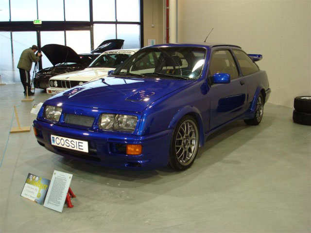 Blue 1986 Ford Sierra Cosworth