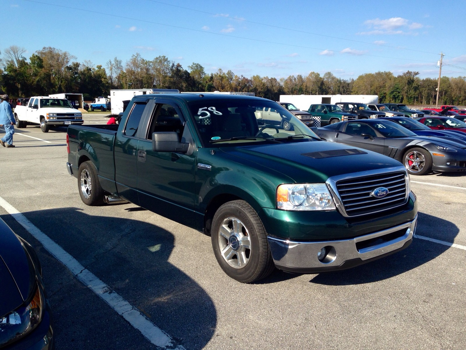 2007 ford f150 super cab xlt whipple 1 4 mile trap speeds 0 60. Black Bedroom Furniture Sets. Home Design Ideas