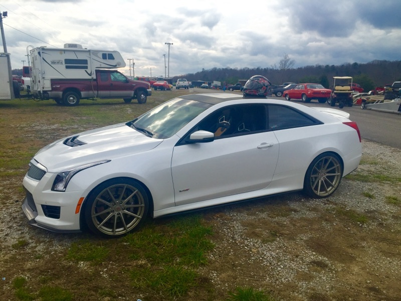 Cadillac Ats V Coupe >> 2016 Cadillac ATS V Series 1/4 mile trap speeds 0-60 - DragTimes.com