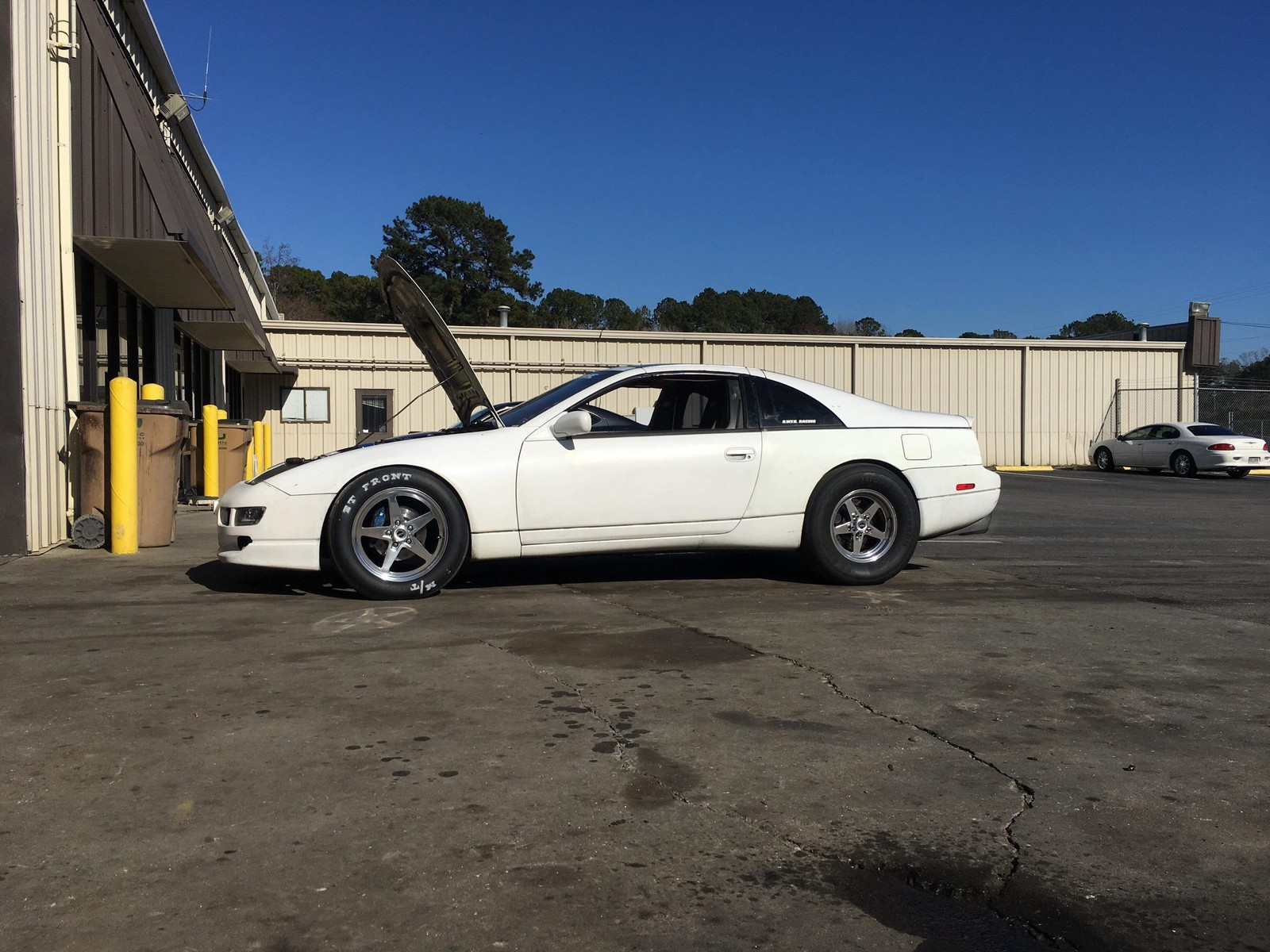 1992 White Nissan 300zx 2 2 Pictures Mods Upgrades Wallpaper Dragtimes Com