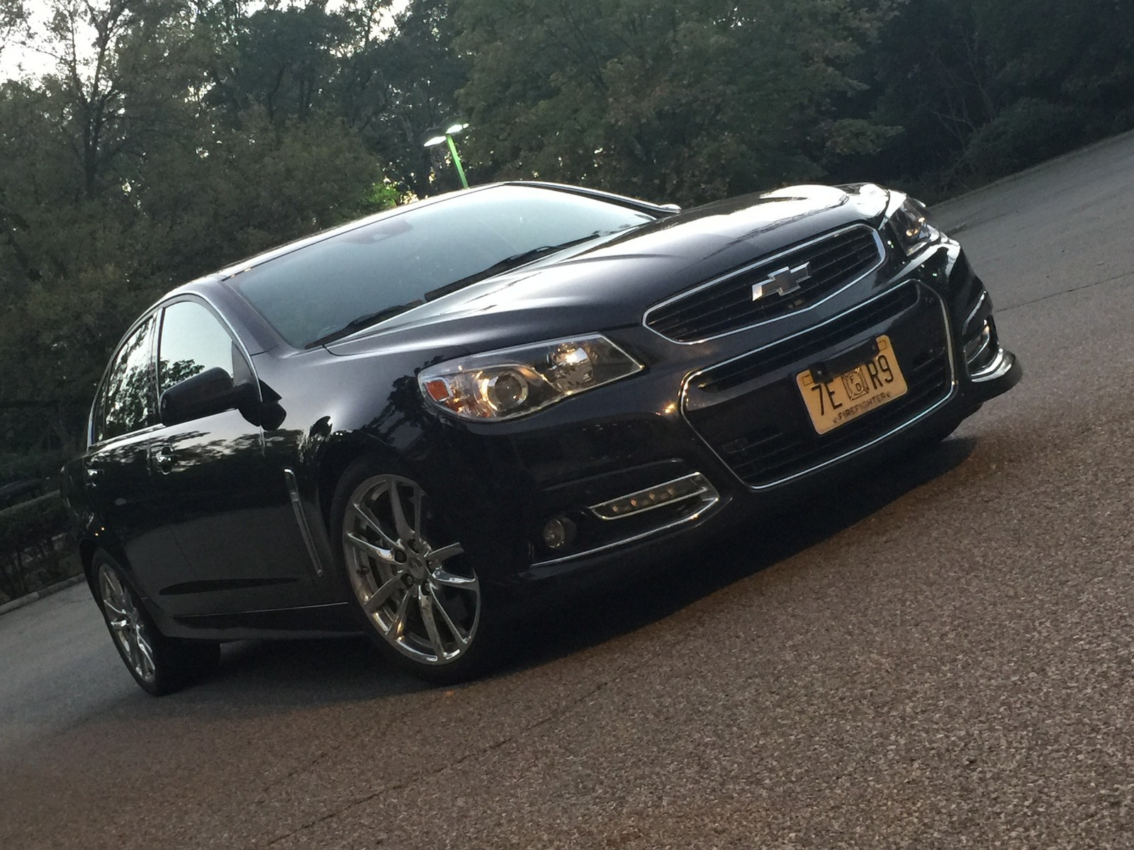 2014 Phantom Black Metallic Chevrolet SS  picture, mods, upgrades