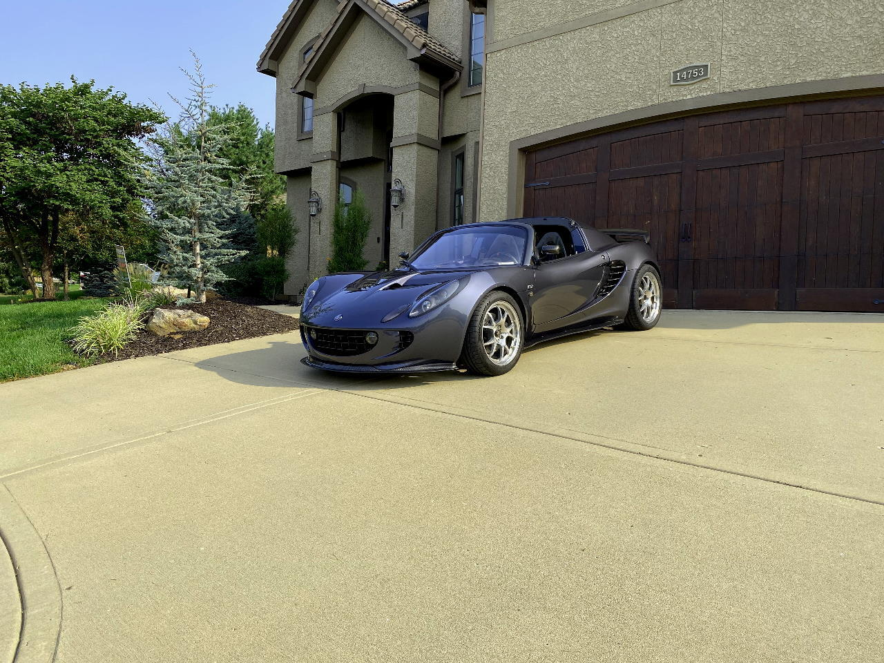 Midnight Silver 2005 Lotus Elise LSS